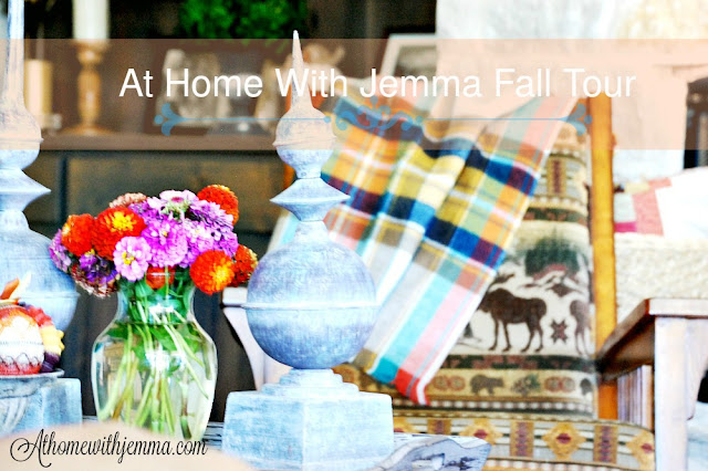 Fall-Home-Tour-Jemma-family-room-plaid throw