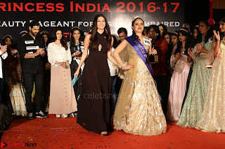 John Aham, Bhagyashree, Subhash Ghai and Amyra Dastur Attends Princess India 2016 17 Part2 003.JPG