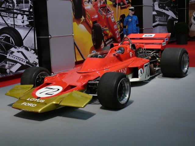 Lotus 72 classic GP racing car