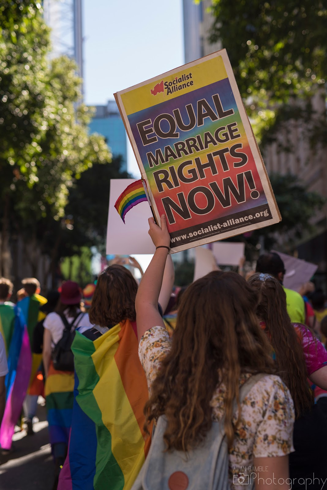 Marriage Equality March - Brisbane 2017