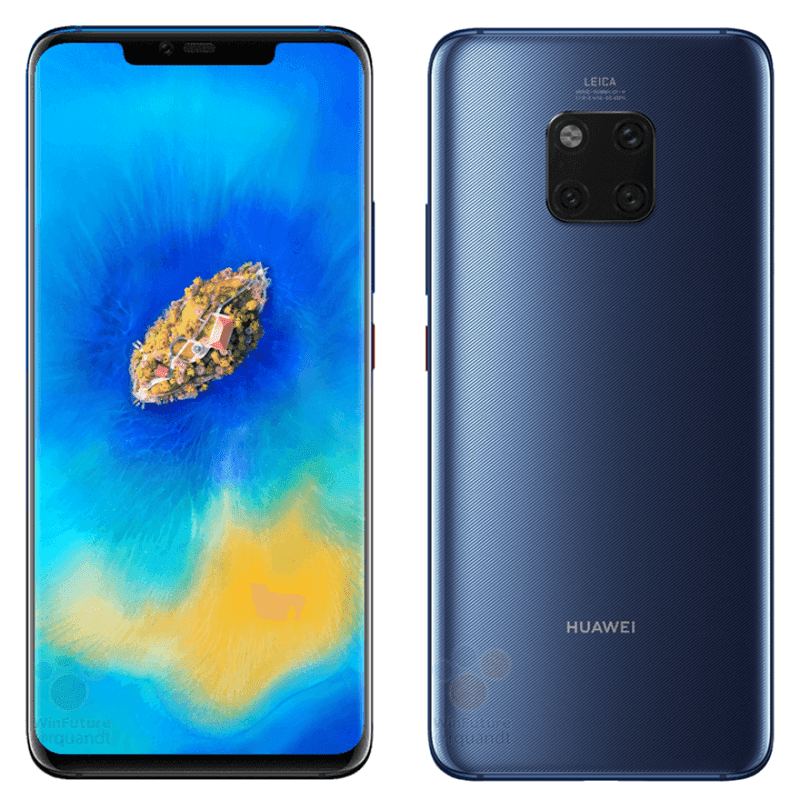 Colors Of Huawei Mate 20 Pro Leaked