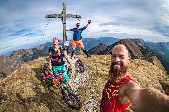 bikebergsteigen karwendel fleischbank mtb mountainbike bbs