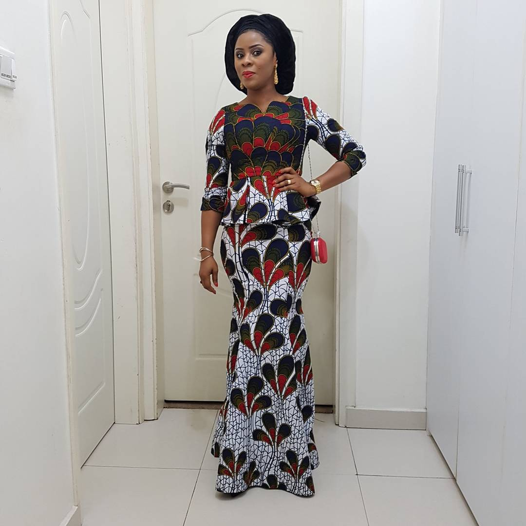 See These Pictures of Latest Ankara Peplum Styles in 2018 - Skirt ...