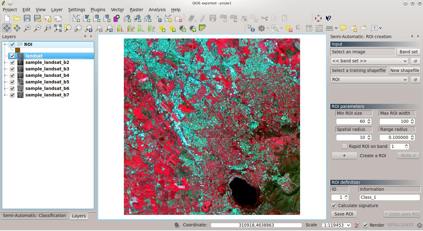 From GIS to Remote Sensing: Interpretation of Remote Sensing