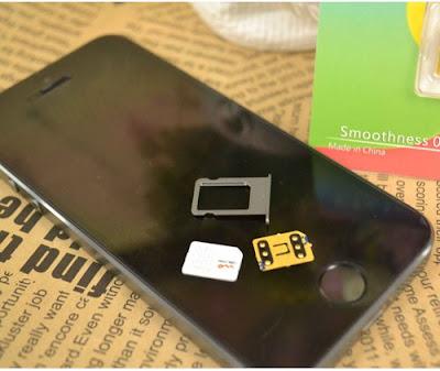 Cách fix lỗi cho sim ghép iphone 5