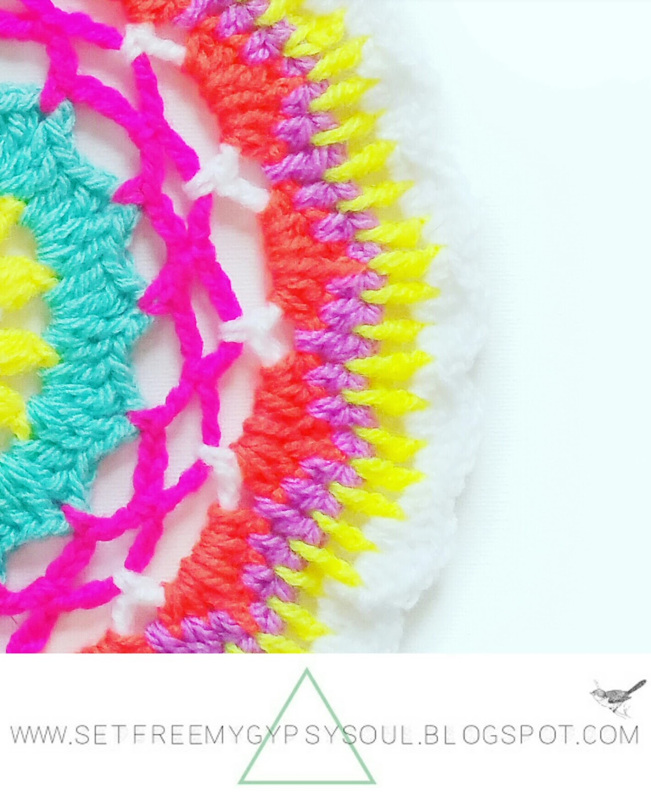 easy free mandala crochet pattern boho gypsy soul