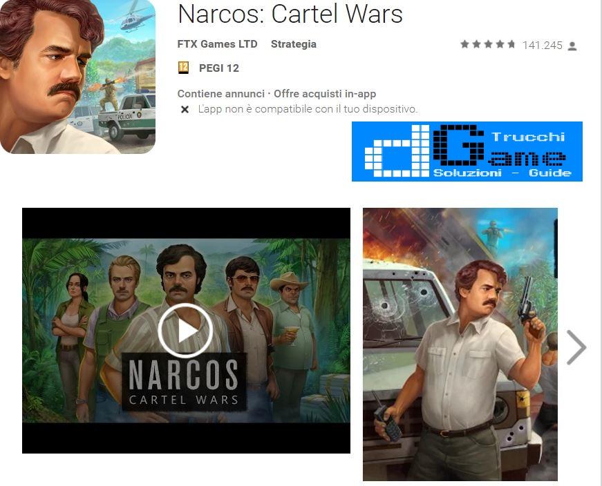 Trucchi Narcos: Cartel Wars Mod Apk Android v1.01.01