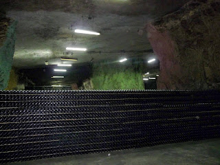 Бахмут. Завод шампанських вин. Підземне виносховище