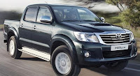 Toyota hilux; orduda, afette, ralli de her yerde