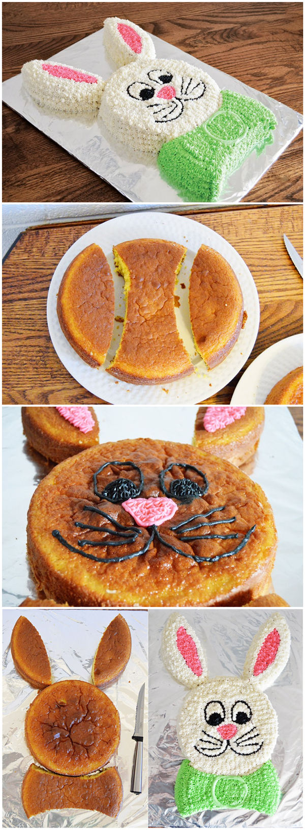 Bunny Cut Up Cake