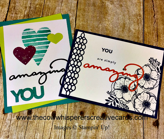 Card, Amazing You, Celebrate You Thinlits Dies, Stampin UP