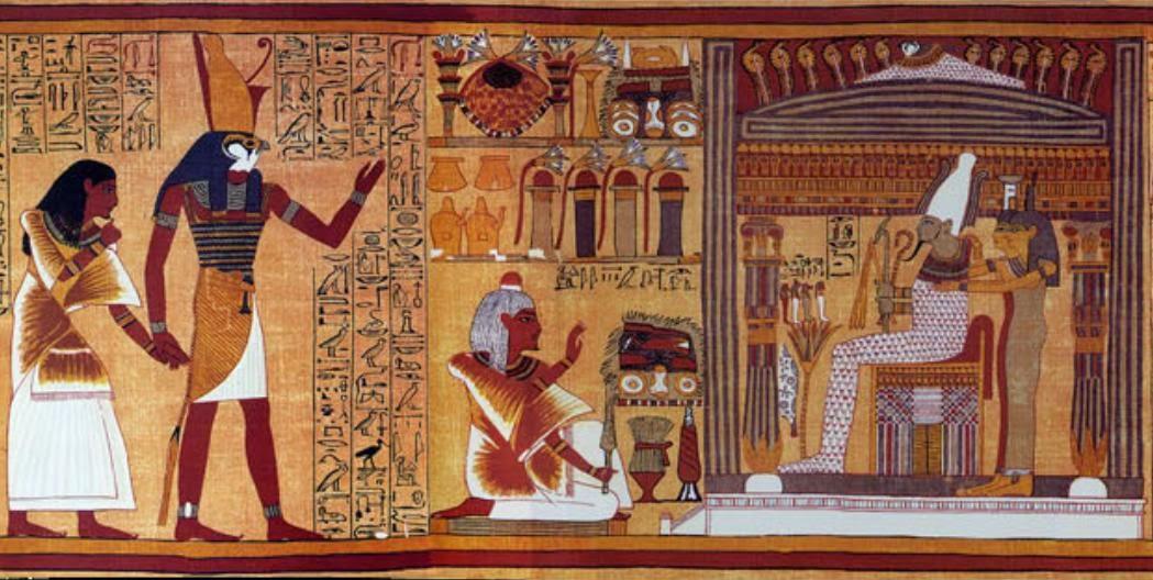 Reino de Clio: O LIVRO DOS MORTOS EGÍPCIO IV – PAPIRO DE ANI