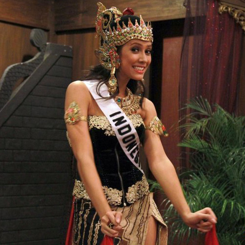 nadine alexandra dewi  putri indonesia 2011  galeri foto