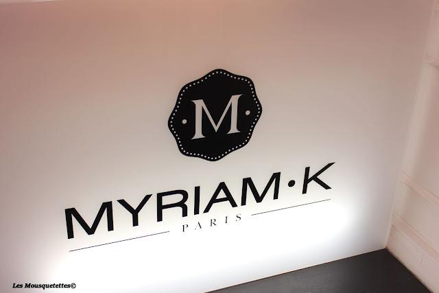 Show-room de Myriam k- Paris- Blog-beauté Les Mousquetettes©