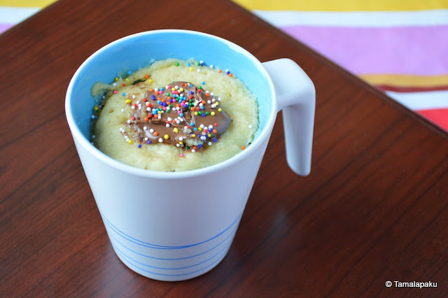 Vegan Coconut Milk Mug Cake