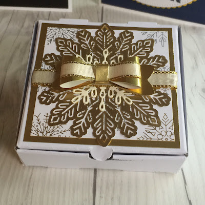 Foil Snowflakes and Designer Series Paper