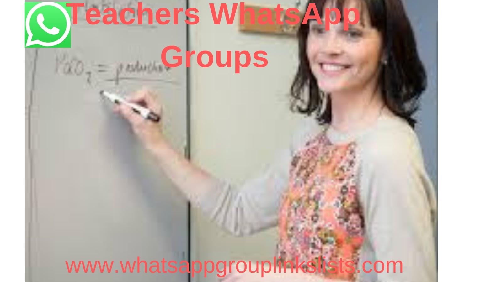 Join Teachers WhatsApp Group Links List