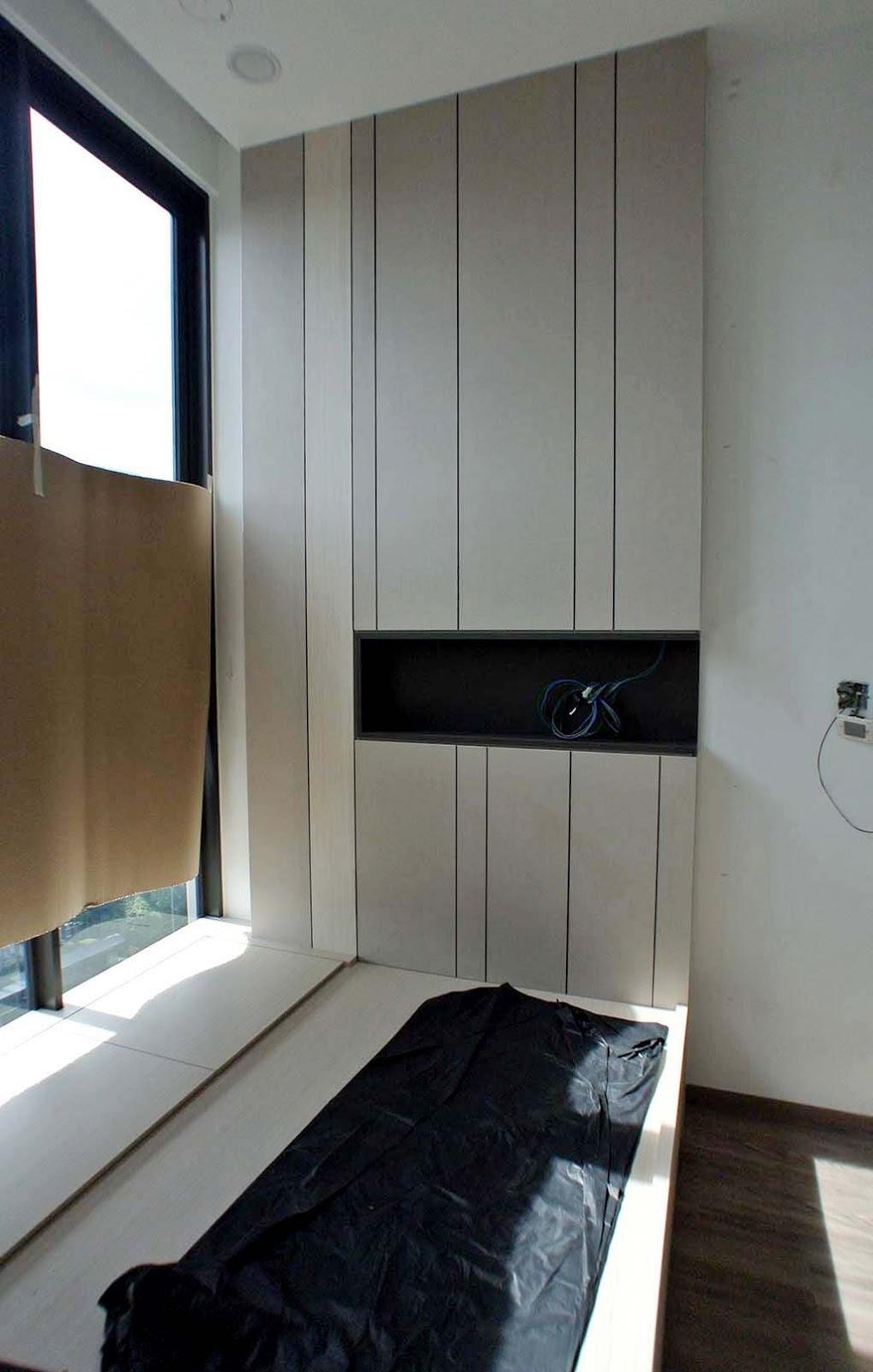 butterpaperstudio: Reno@Venue - Platform bed in Guest room