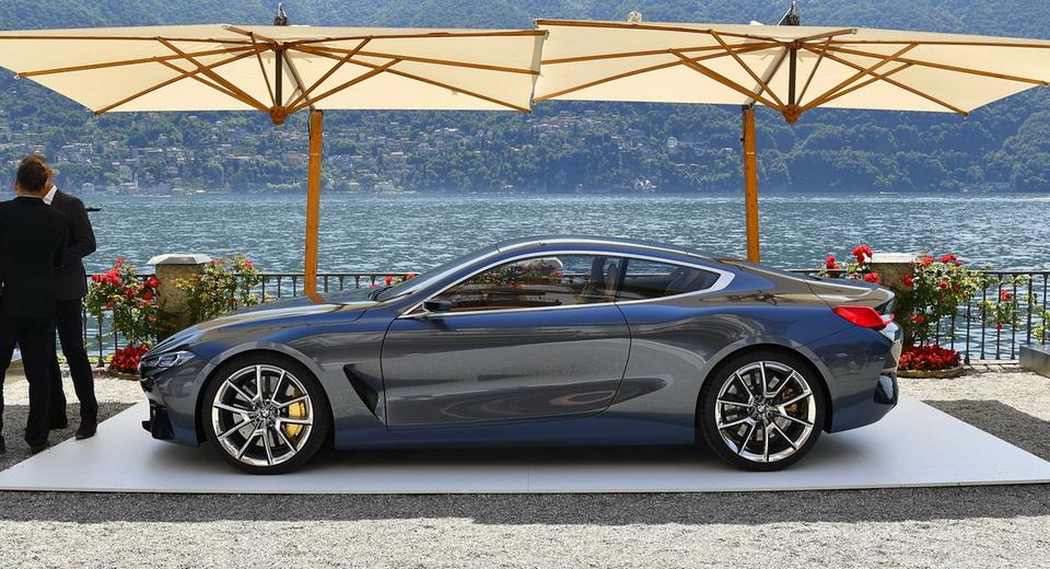 BMW 8Series Concept Looks Even Better Under The Italian Sun 32 Pics