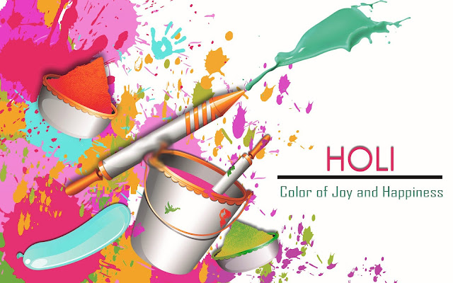 hd wallpaper of happy holi 2017