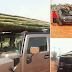 Man Uses Hummer Jeep To Transport Bamboo Sticks From Market In The East * (Photos)