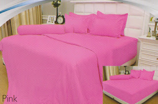 sprei Internal Vallery Pink