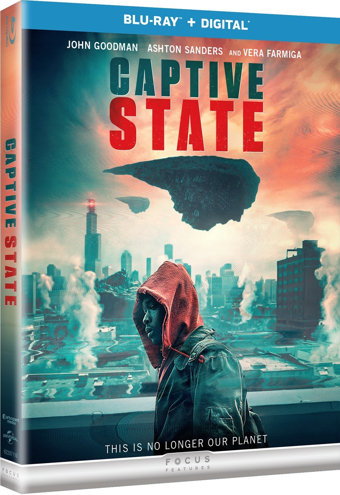 Blu-ray and DVD Date for Captive State (2019)