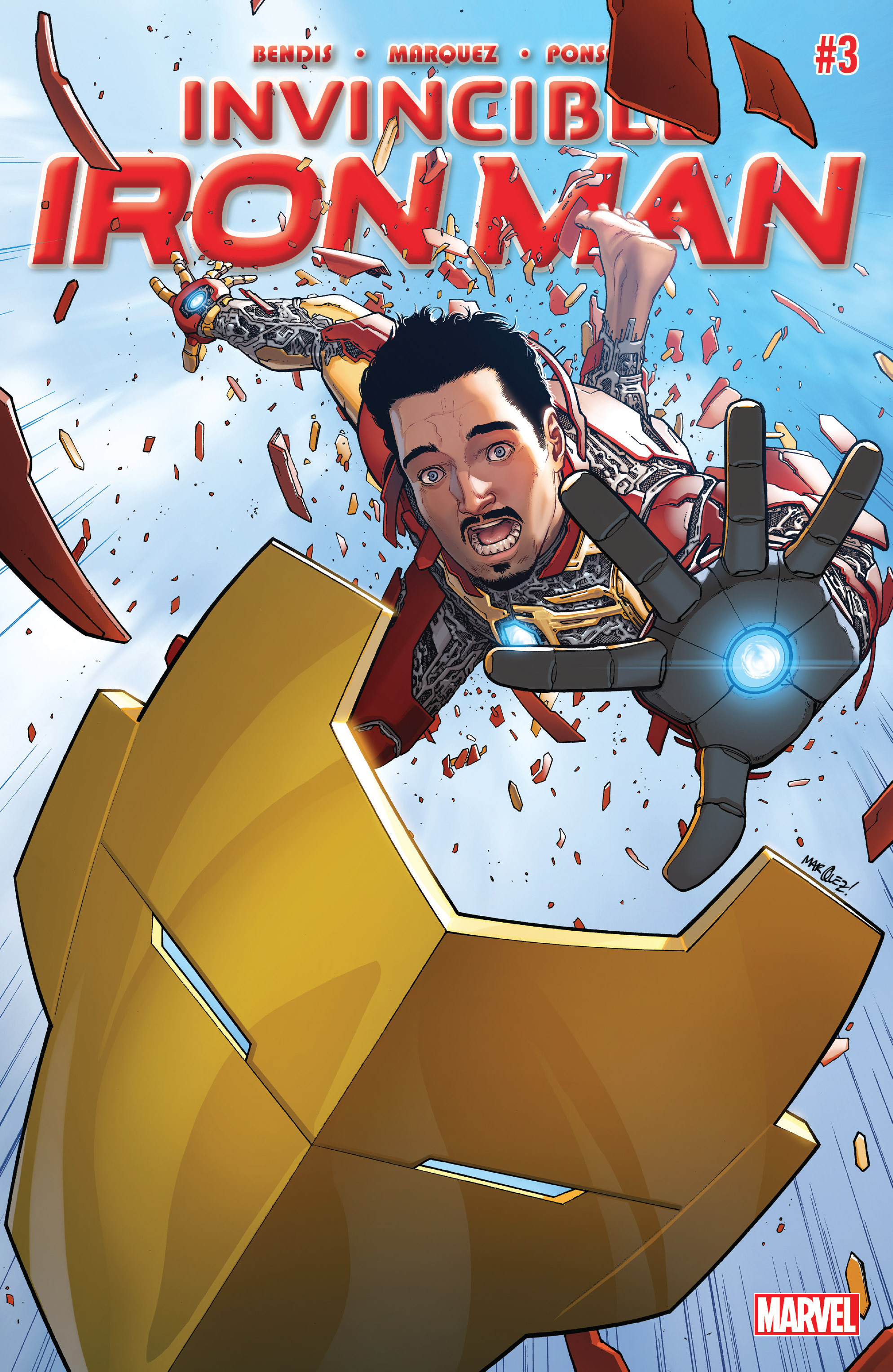 Invincible Iron Man (2015) 3 Page 1