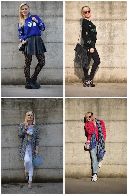 recap outfit febbraio 2017 outfit casual invernali outfit invernali casual mariafelicia magno fashion blogger color block by felym fashion blogger italiane recap outfit febbraio february outfits winter casual outfits