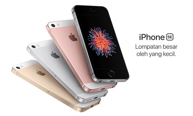 Harga iPhone SE dan Spesifikasi Lengkap
