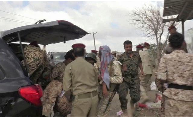 Foto Korban Serangan Drone oleh Teroris Syiah Houthi