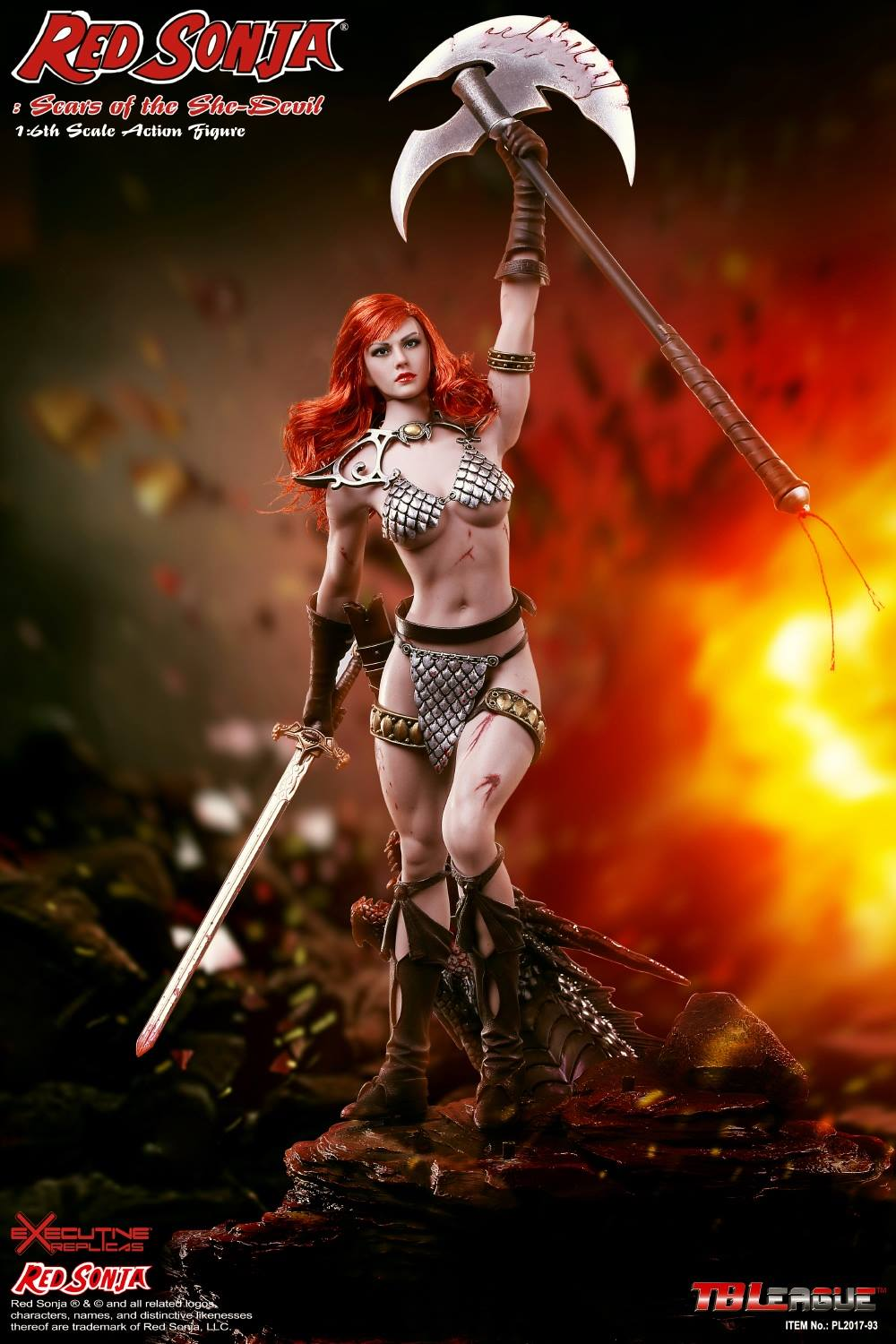 PHICEN - Red Sonja: Scars of the She-Devil  4