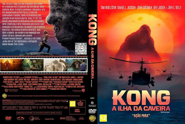 Capa DVD Kong A Ilha da Caveira [Custom]