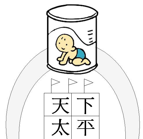 天下太平-水貸奶粉 | a good idea is a smile
