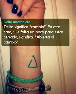 Que significan los tatuajes?
