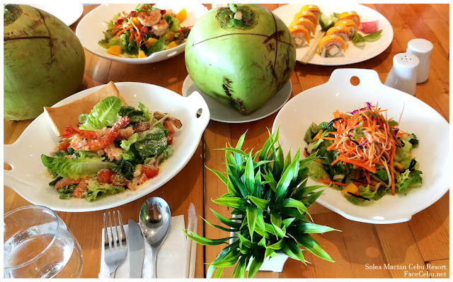 Vegetable Salad at Solea Mactan Cebu Resort