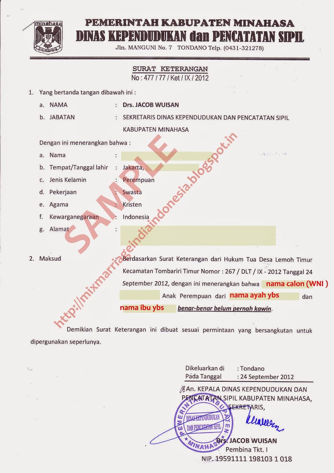 Image Result For Contoh Contoh Surat Pernyataan Legal Akses