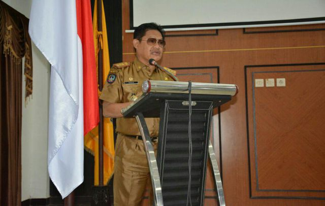 Pelaksana Tugas (Plt) Sekretaris Daerah Kabupaten Sinjai, Drs Akbar, M.Si, Bonepos