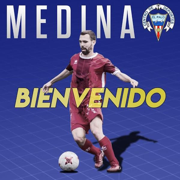 Oficial: El CD El Palo se refuerza con Medina