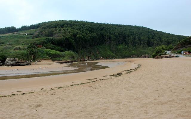 Playa de la Canal en Galizano. Ribamontán al Mar. Cantabria