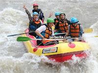 Rafting di Sungai Elo Magelang, Arung Jeram di Surga Dunia