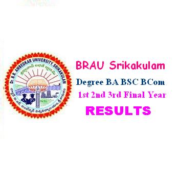 DR BRAU Srikakulam UG Degre Results