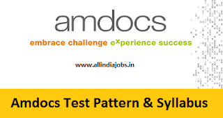 Amdocs Test Pattern
