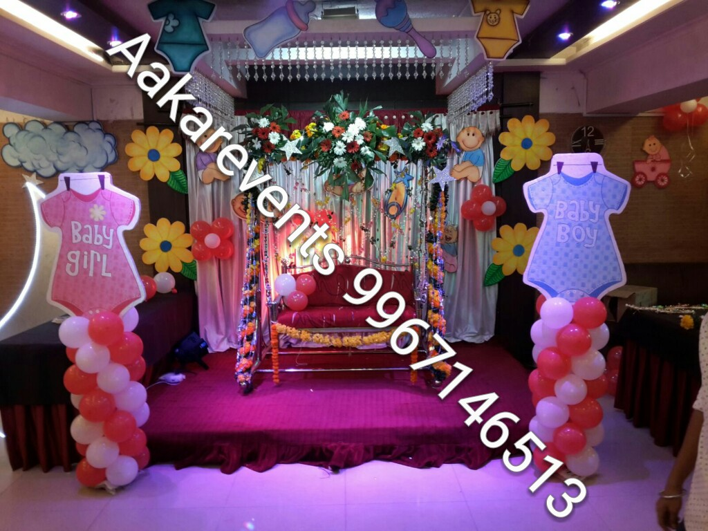 Dohale jevan decoration in mumbai baby shower decoration in mumbai Home decoration tips in marathi