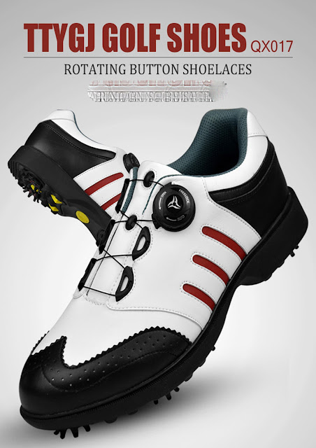 High quality men spring and autumn golf shoes