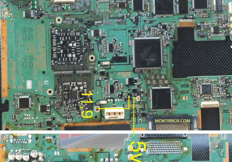 Test Point Kipas PS2 Mati Seri 30XXX baut 8