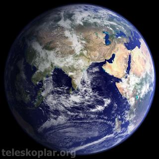 dünya gezegeni ve teleskop gözlemi
