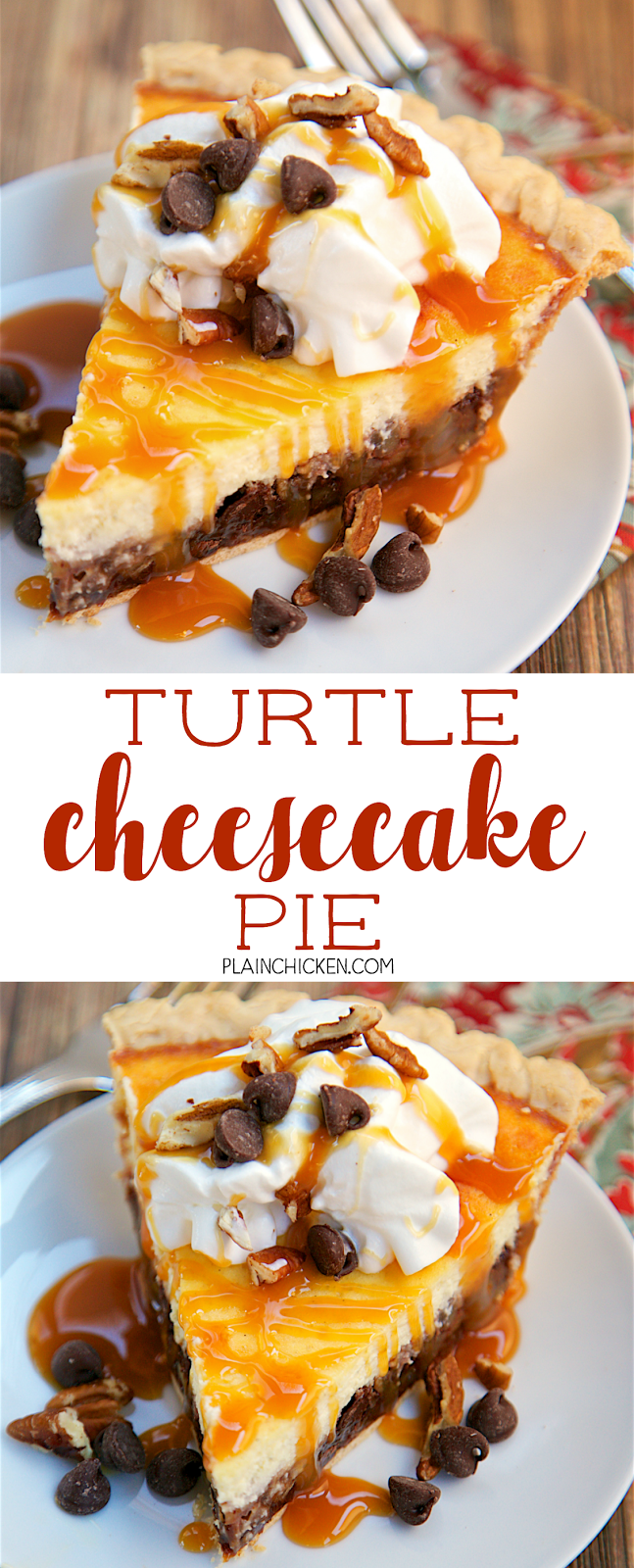 Turtle Ice Cream Pie Recipe — Dishmaps