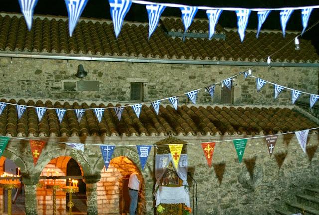 Θεσπρωτία: Πολλοί πιστοί εόρτασαν την αγία Σοφία στην παλαιά ομώνυμη εκκλησία της Βρυσοπούλας Παραμυθιάς!