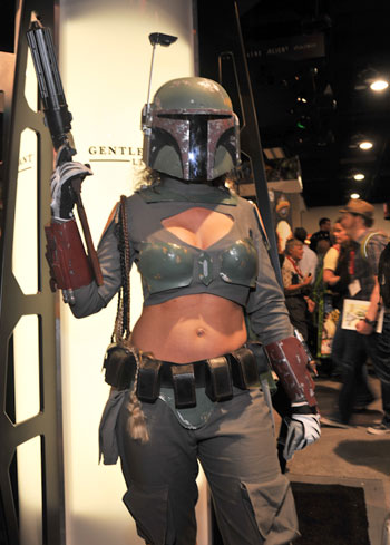 Lady Boba Fett Cosplay